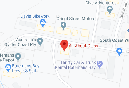 All About Glass Location